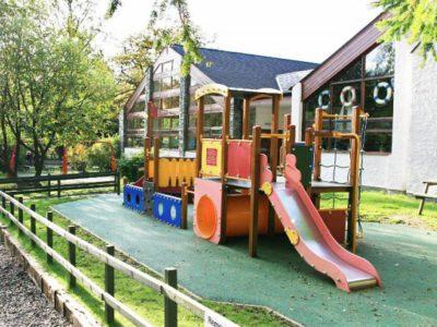 Детская площадка из резиновой крошки